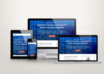 Arkoza Kft weboldal készítés