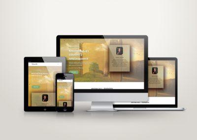 kristinacalu.hu weboldal készítése